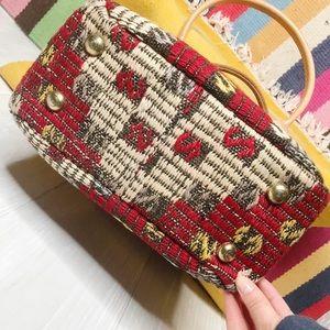 Vintage Bags - [Vintage] Matt Camron Kilim Aztec Carpet Bag